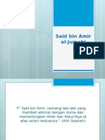 Said Bin Amir Al-Jumahi