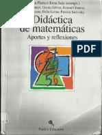 Didáctica de Matemáticas Aportes y Reflexiones Cecilia Parra y