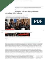 Silvia Jato 'Pasapalabra' Sale Con El Ex Presidente Valenciano Alberto Fabra _ Loc _ EL MUNDO