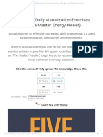 5 Essential Daily Visualization Exercises