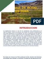 Eusebio Contreras Alvarez Drenaje de Acido en Mina