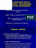 Commercial-Energy Metering - First Session - PP.ppt