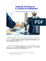 Empresas de Servicios en Colombia