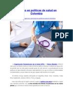 Mejoras en Políticas de Salud en Colombia