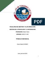 Informe Individual - CONCYTEC - Oscar Sáenz