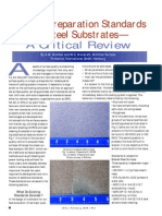 Surface Preparation Standards for Steel Substrates a Critical Review
