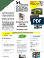 FOLHETO ESPECIAL VISITAS CULTURAIS AGENDADAS (Março e Abril) 2010