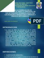 Guía Para La Formulación de Declaración de Impacto