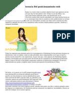 Barna, La Urbe Referencia Del posicionamiento web