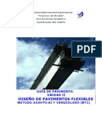 métodos de diseño de pavimentos flexibles
