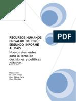 Recursos Humanos de Salud en Perú 2do Informe al País. Marzo 2011.pdf