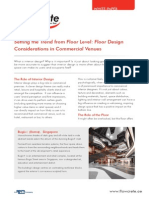Floor Design Considerations in Commercial Venues Middle East