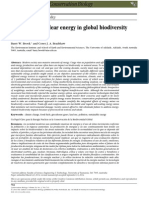 Key Role for Nuclear Energy in Global Biodiversity Conservation
