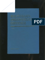 Manualul Inginerului Geodez Vol II