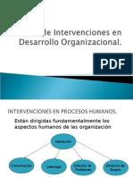 tiposdeintervencionesendesarrolloorganizacional2-090630214815-phpapp01