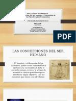 PSICOLOGÍA HUMANISTA. Concepción Del Ser y Psicoterapia Humanista