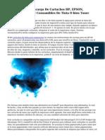 Franquicia Para Recarga De Cartuchos HP, EPSON, LEXMARK, CANON Consumibles De Tinta O bien Toner