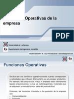 Funciones Operativas