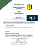 Construcción de modelos de optimización y representación de datos
