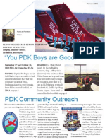 PDK Senior Squadron - Nov 2012