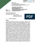 PODER JUDICIAL ORDENA REPOSICIÓN DE JOSE MANUEL MENA MICHILOT