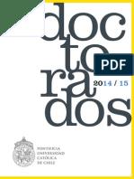 Catalogo Doctorados 2015