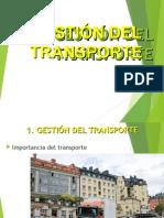 Gestion Del Transporte
