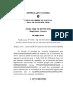 Sentencia Tramite Hipotecario a Quirografario