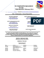 Andrews Squadron - Feb 2014