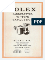 Catalogue - Solex-M Type
