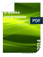 8-Weeks Petroleum Development and Operations - Programme Information and Application Procedure 2014