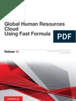 Using Fast Formula