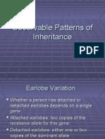 Lecture Observable Patterns OfIinheritance 2010