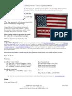 Veterans Lap Blanket Pattern