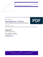Desk Share Client En