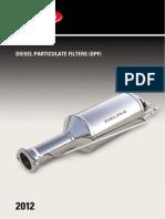 Delphi Diesel Particulate Filters Catalogue