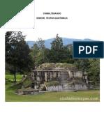 sitios turisticos de cada departamento de guatemala