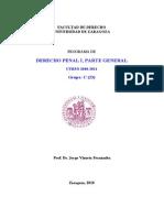 2C Derecho Penal I Programa