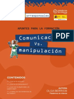 3. Comunicación vs Manipulación