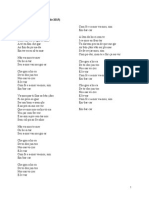 Embark Lyric Sheet Portuguese
