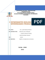 Contaminantes-biologicos - Grupo 3 Higiene y Sanidad