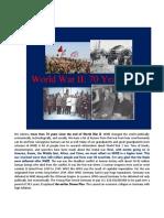 World War II (70 Years Later)