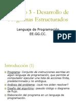 Cap 03 - Estructuras de Control en C