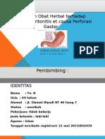Perforasi Gaster