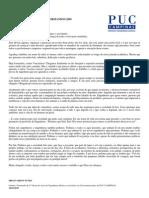 Discurso de Formatura - Engenharia Elétrica PUC-CAMPINAS - Formandos 2009