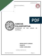 5. Anteproyecto Polideportivo Usac