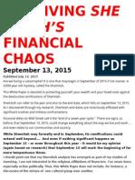 Surviving Shemitah's Financial Chaos (SurviveShemitah.com 2015-07-14)