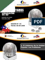 Sesin n 03 El Gobierno de La Unidad Popular Los Problemas 1222016002373337 9