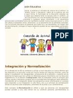 Historia de La Inclusión Educativa