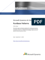 Run Base Patterns Whitepaper